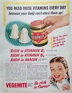 Vegemite ~ Australia 1953.