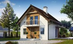 These small houses under 100 square meters make a fine practical answers to those living demands seeking to balance costs and comfort. Prefabricated Houses, Design Case, Houzz, Home Fashion, Future House, Terrace, Architecture Design, Outdoor Living, Interior Design