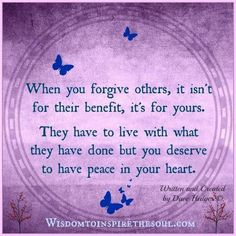 Forgiveness and peace Wise Quotes, Famous Quotes, Quotes To Live By, Mommy Quotes, Motivational Posts, Inspirational Quotes, Cool Words, Wise Words, The Victim