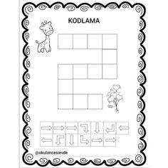 Coding For Kids, Worksheets For Kids, Digital Technology, Preschool Activities, Pixel Art, Kindergarten, Bee, Education, Math