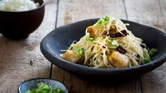 In Chinese cooking potatoes are often stir-fried and eaten with rice. This easy stir-fry could be considered as a kind of fish and chips, but the similarity . Stir Fry Recipes, Fish Recipes, Seafood Recipes, Asian Recipes, Ethnic Recipes, Fish Dishes, Seafood Dishes, Fried Fish, Meal Planner
