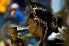 * tribe  Karajá - Brazil *