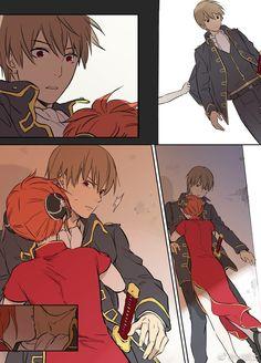 Tổng hợp các doujinshi của Gintama do mình dịch Đọc vui~ Manga Anime, Me Anime, Anime Couples Manga, Manga Couple, Anime Love Couple, Kawaii Anime, Okikagu Doujinshi, Gintama, Cute Anime Coupes