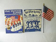 Vintage Music July 4th by PassedBy on Etsy, $12.00