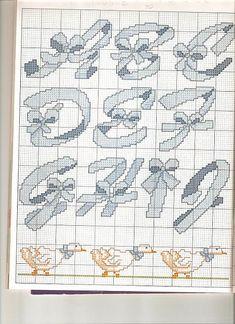 alfabeto con fiocchi - magiedifilo.it punto croce uncinetto schemi gratis hobby creativi