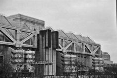 Das Internationale Congress Centrum Berlin (ICC Berlin)1979 Architects Ralf Schüler and Ursulina Schüler-Witte.