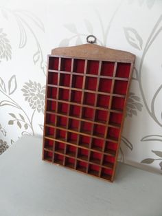 Thimble Wall Display Case Wooden Thimble by BlackSquirrelHome