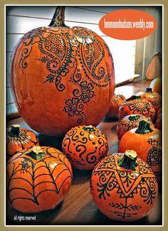 Pumpkins | EverythingCroton: BLOWN AWAY, HENNA PUMPKINS BY HENNA ON HUDSON