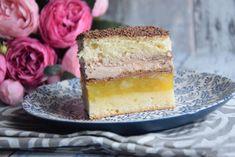 Prajitura rasfatata Vanilla Cake, Nutella, Cheesecake, Food And Drink, Sweets, Baking, Salvia, Cakes, Mascarpone