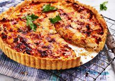 Kebab Wrap, I Love Food, Good Food, Savory Tart, Swedish Recipes, Brunch Party, Everyday Food, Freezer Meals, Salmon Burgers