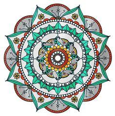 ❤~ Mandala ~❤- Source Inconnue -