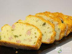 Ricetta per Plumcake salato Bimby con Prosciutto e Olive