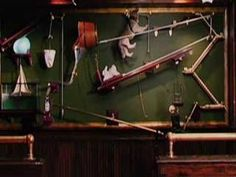 Rube Goldberg machine from Waiting that will open your coke bottle