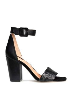 Snake Leather Sandals