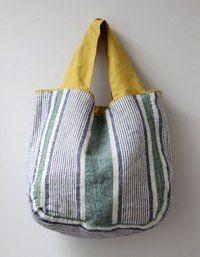 women beach towel Lino e Lina オンラインストア. My Bags, Purses And Bags, Sacs Tote Bags, Diy Sac, Linen Bag, Patchwork Bags, Denim Bag, Fabric Bags, Summer Bags