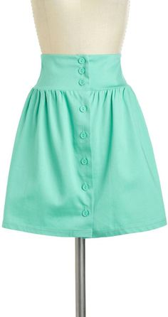 Take The Aline Skirt in Mint - Lyst