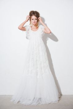 ida sjostedt couture -this dress reminds me of what my mom use to dress me in as a little girl.