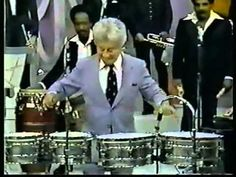 TITO PUENTE  EL REY DEL TIMBAL SOLO more salsa -latin jazz music on www.lagomeraferienhaus/pinterest