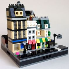 The Lego Micropolis standard and why you should build in it