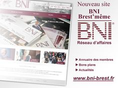 Sortie officielle du site BNI Brest http://www.bni-brest.fr