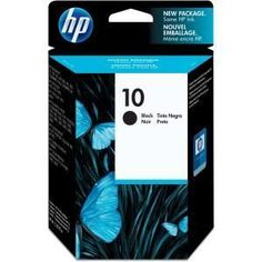 INK, HP No 10 Large Black Ink Crtg,