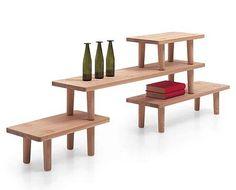 oak table modules | jasper morrison    retail display?