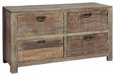 Reclaimed wood furniture - traditional - buffets and sideboards - other metro - Quantum Exim Furniture