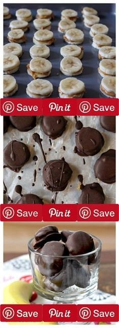 Dark Chocolate Peanut Butter Banana Bites time to get ready for bikini season. Which therefore means back to eating paleo. Ive even created an Instagram Ingredients Vegetarian Gluten free Produce 2 Bananas medium ripe Condiments  cup Nut butter creamy Bak