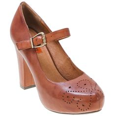 Miz Mooz leather Mary Jane pumps