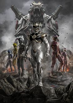Which Power⚡Rangers team would you love to see redesign? First Power Rangers, Power Rangers Comic, Power Rangers Fan Art, Power Rangers Cosplay, Power Rangers Ninja Storm, Mighty Morphin Power Rangers, Power Rangers Time Force, Comic Books Art, Comic Art