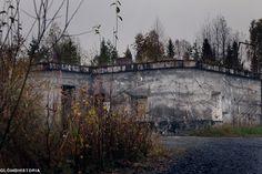 The abandoned Radiobunker in Boden, Sweden.