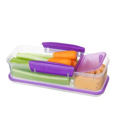 Look at this Sistema Purple Snack Attack To-Go Container on #zulily today!