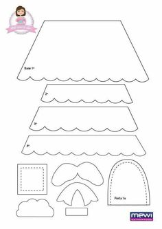 Victorian Dollhouse, Modern Dollhouse, Bucket List For Girls, Quiet Book Templates, Felt House, Felt Baby, Owl Patterns, Vintage Paper Dolls, Felt Ornaments