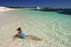 This paradise is called Rottsnest Island - what a misnomer!!