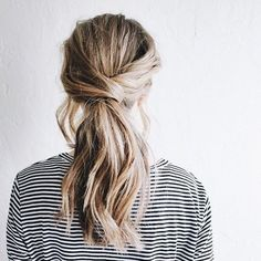 Simple hairstyle idea to try