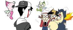 I have been reading lots of pokemon creepypasta lately