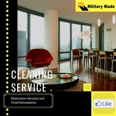 Restoration Services and Flood Remediation Call at now. Restoration Services, Cleaning Service, Military, Army, Military Man, Military Personnel