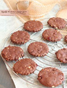 biscotti cacao e frutta secca senza uova