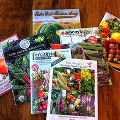Seed Catalogs Everywhere!