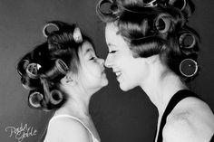 10x de schattigste matching moeder-dochter foto's