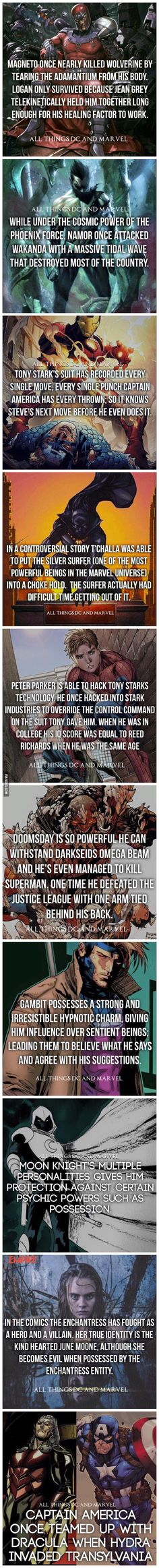 Superhero Facts: Part 4 - 9GAG