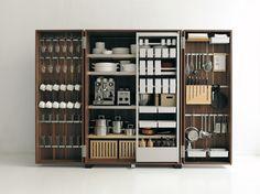Ausgeklügelte Design-Schubladenund Küchen-Interior, daseinen Preis gewinnen könnten? Gibt es hier. Schauen Sie doch mal.