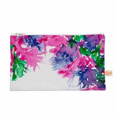 """Ebi Emporium """"Floral Cascade 1"""" Pink Green Everything Bag"""