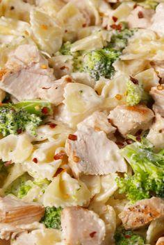 Creamy Chicken & Broccoli Bowties  - Delish.com