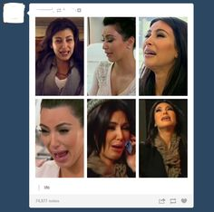 Good to know she has an ugly cry face like the rest of us lol