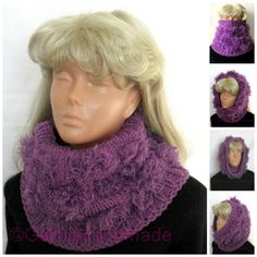 Chunky Knit Scarf Oversized Infinity Scarf Shawl by GalinaHandmade