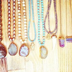 Frasier Sterling Jewelry...beautiful designs! cheapest piece is around $300. I've loved druzy quartz since I was a little girl think I'll make some of my own! #inspired