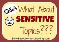 Q&A: What about SENSITIVE Topics in the Bible?