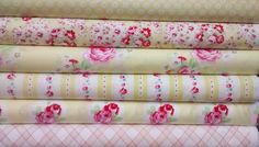 6 Fat Quarters of LOLA in Yellow by Tanya Whelan for yards total… Cotton Crafts, Fabulous Fabrics, Fabric Shop, Fat Quarters, Yards, Cotton Fabric, Things To Come, Dreams, Quilts