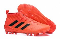 size 40 581cc ddb1a 2018 FIFA World Cup Men Adidas ACE 17+ Purecontrol Primemesh TF Orange Black